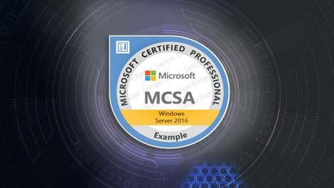 كورس MCSA Windows Server 2016