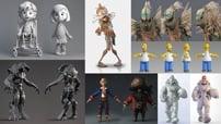 مشاريع 3D Max و إنشاء الشخصيات 3 كورس سيتD Max Projects + character modeling courseset com