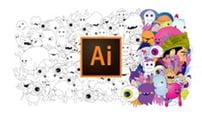 دورة Illustrator CC 2020 for beginners Basics & Tricks كورس سيت courseset com