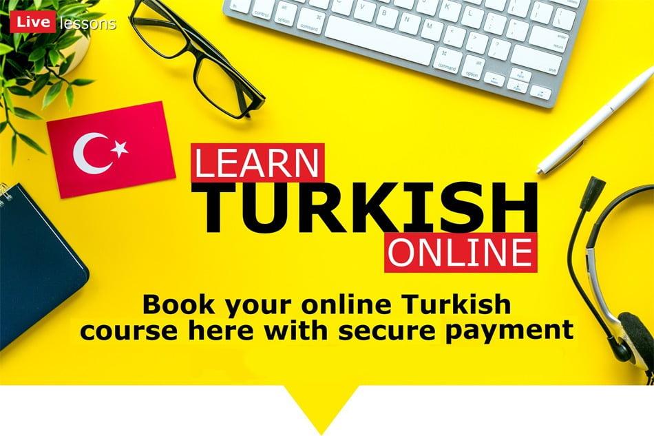 كورس سيت دورة اللغة التركية A1 أون لاين مباشر courseset com